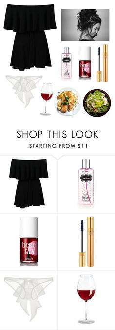 """Home"" by cmon890 ❤ liked on Polyvore featuring Victoria's Secret, Benefit, Yves Saint Laurent and Damaris"