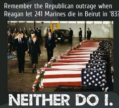 When it happens on a GOPer's watch it's blamed on the Terrorists but on a Dem's it's his. Hypocritical much?
