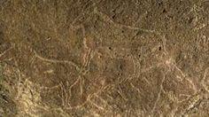 Caballos y cabras pueden verse en esta porción del panel de 15 metros hallado en la cueva de Armintze, en el País Vasco.