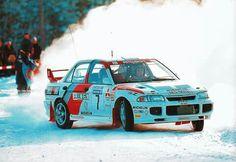 Mitsubishi Lancer Evo Schweden Rallye