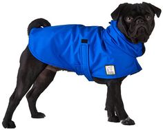 PUG Dog Rain Coat by VoyagersK9Apparel on Etsy, $55.00