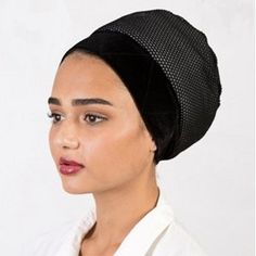 Cool Mesh Turban Volumizer| Tichel Volumizer. Cool and lightweight Vollumizer for summer! Choose from black or white.