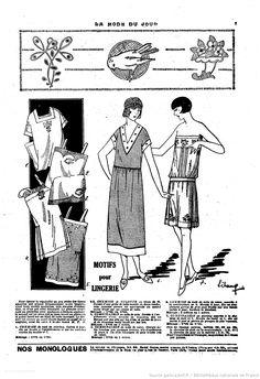 La Mode du jour. 1926/04/29