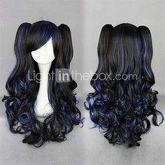 Lolita Wigs Sweet Lolita Lolita Long Black Lolita Wig 70 CM Cosplay Wigs Solid Wig For Women - USD $36.99 ! HOT Product! A hot product at an incredible low price is now on sale! Come check it out along with other items like this. Get great discounts, earn Rewards and much more each time you shop with us!