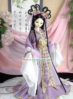 Ancient Chinese Purple Fairy