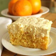 Summery Sunshine Cake