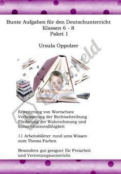 #Schule #Deutsch #Deutschunterricht #Rechtschreibung #Grundschule #Sekundarstufe