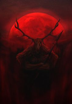 """""""Hircine, whose sphere is the hunt, the sports of Daedra, the greatest game, the chase and sacrifice of mortals; known by the names The Huntsman of The Princes, and The Father of Manbeasts."""" Art by:..."""