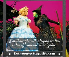 Your life, your game is yours. It is up to you to navigate through it. #wicked #myrules http://BetweenMyStageLife.com
