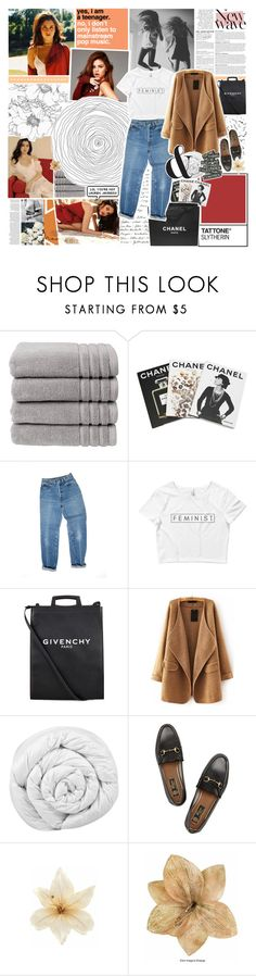 """baby put on heart-shaped sunglasses"" by h-eartstrings ❤ liked on Polyvore featuring Fountain, Anja, Christy, Assouline Publishing, Chanel, Levi's, Givenchy, Brinkhaus, Gucci and Clips"