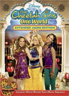 Verizon FiOS TV video-on-demand customers will get a first look at the summers hottest new movie from Disney Channel. The highly anticipated film, The Cheetah Girls One World, will begin. Old Disney Channel, Disney Channel Movies, Disney Channel Original, Disney Movies, World Movies, All Movies, Great Movies, The Cheetah Girls, Movies Showing