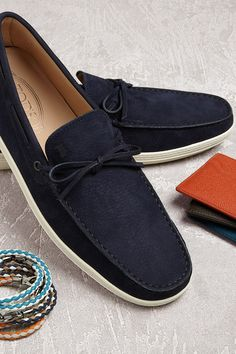 727f8c40a Go bold or go home with new shoes  amp  accessories by Tod s.  SaksMen · Mens  Fashion ...