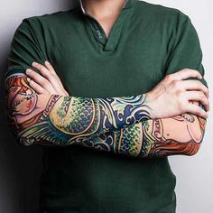 Tatouages manches TinyDeal