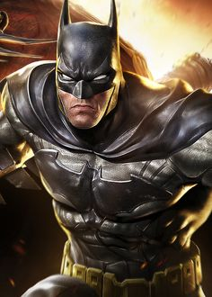 "gamefreaksnz: "" Warners reveal DC Comics 'Infinite Crisis' MOBA Warner Bros. is developing an all-new multiplayer online battle arena (MOBA) game featuring a deep roster of DC Comics characters. """