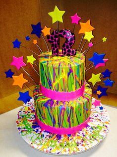 Neon Birthday Cakes 13 Neon Birthday Cakes For Girls Photo Neon Birthday Cakes. Neon Birthday Cakes Birthday Girl Neon And Neon Blue Purple Pink Orange And. Neon Birthday Cakes Neon Glow In The Dark Paint Splatter Cake Party Ideas In Neon Birthday. Neon Birthday Cakes, 13th Birthday Parties, Birthday Cake Girls, Birthday Ideas, Teen Birthday, 11th Birthday, Happy Birthday, Paint Splatter Cake, Bolo Neon