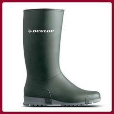 Dunlop Sport dunkelgrün, Gummistiefel, 38 - Stiefel für frauen (*Partner-Link)