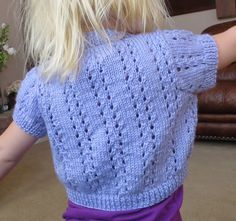 Ravelry: Lace Bolero with Short or Long Sleeves by Sirdar Spinning Ltd.