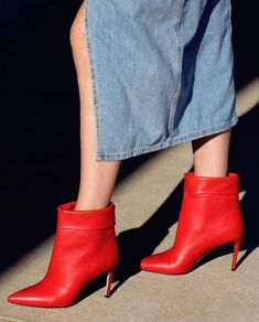 a92f447e9c65a Red hot alert in #paulandrew. Tap to shop these handcrafted, Banner leather  boots