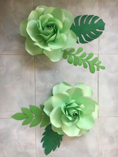 Mint green paper flowers by GelleDIY Hand-made Paper Flower by GelleDIY #Nursepreneur #sideline #Passion PM me for inquiries