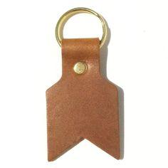 leather arrow key fobs