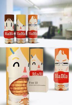 13 design d emballages etonnants cookies bla bla   13 design demballages géniaux et surprenants   zippo vodka vin sparadrap pain packaging m...