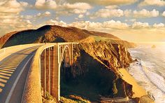 Gabriella Le Breton follows Highway 1 along a spectacular stretch of   Californian coastline to a magical enclave of Sixties America.