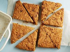 Get Food Network Kitchen's Whole-Grain Pumpkin Scones Recipe from Food Network