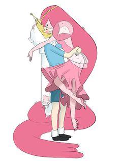 How the staff draws Finn Finn and Princess Bubblegum