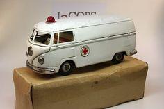 BANDAI Volkswagen Ambulance – Rare ! : Lot 174