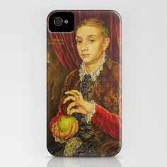 This amazing Boy With Apple iPhone Case from Grand Budapest Hotel movie is a one-piece, impact resistant, plastic hard case featuring an