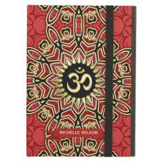 Custom name / personalized Spiritual New Age themed case for iPad Air, iPad Mini
