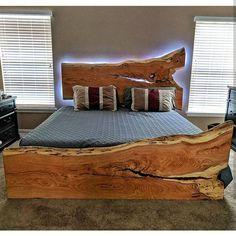 Furniture For Sale Online Referral: 9744931619 Live Edge Furniture, Pallet Furniture, Furniture Projects, Furniture Plans, Rustic Furniture, Furniture Buyers, Easy Woodworking Ideas, Woodworking Bed, Woodworking Workshop