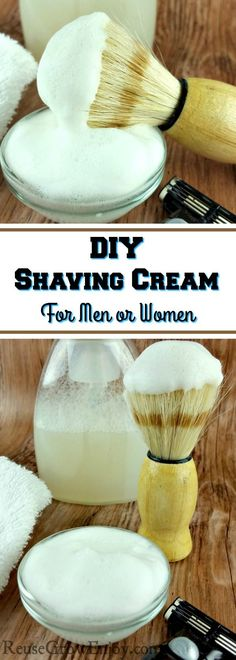 Looking to start using more natural personal care products? Well, I have a DIY shaving cream for you to try. It is super easy, pretty cheap and works really well. Plus it is good for both men and women.