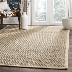 Safavieh Natural Fiber NF-114 Rugs | Rugs Direct Natural Fiber Rugs, Natural Area Rugs, Natural Rug, Seagrass Rug, Jute Rug, Home Design, Interior Design, Natural Flooring, Cool Rugs