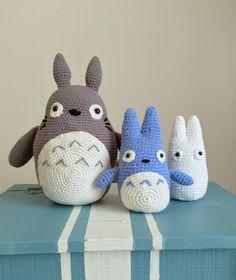 100% handmade crochet Totoro free shipping U.S. by AbsoCrochet