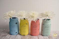 Teen DIY - pretty cute vases for summer.