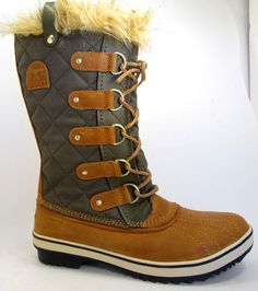 NEW Sorel Tofino CVS Womens Insulated Waterproof Winter Boots Leather w/Faux Fur