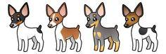 Cartoon Rat Terrier