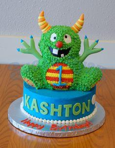 Monster First Birthday