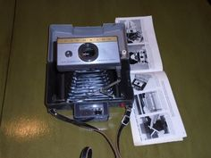 Old Polaroid 215 Land Camera by Montyhallsshowcase on Etsy