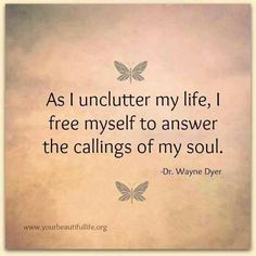 Unclutter your life. http://www.calmdownnow.com