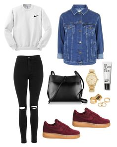 """""""Untitled #146"""" by tyra-breann on Polyvore featuring NIKE, Topshop, Kara, Michael Kors, Pieces, women's clothing, women, female, woman and misses"""