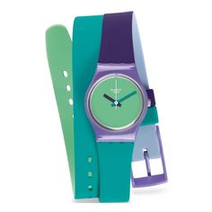 Swatch Fun In Blue Ladies Watch LV117