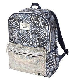 Justice Denim Aztec Backpack And Matching Lunch Bag NWT Aztec Backpacks b6dd454572cfb