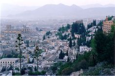 The city of Granada early in the morning. Want to enjoy Andalucia? www.ruralidays.com by @ruralidays