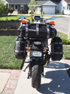 Mosko Moto 40L Duffle on KTM 1190 ADV with Jesse Racks