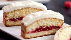 Gâteau à la vanille et aux framboises - Recettes de cuisine, trucs et conseils - Canal Vie