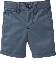 Old Navy | Pop-Color Twill Shorts for Baby