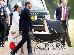 A 50-Year-Old Stroller and 4-Year-Old Cake: Princess Kate and Prince William Look to History for Princess Charlotte's Christening http://www.people.com/people/package/article/0,,20395222_20935558,00.html