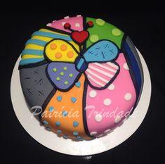 Bolo Romero Britto / Cake Romero Britto